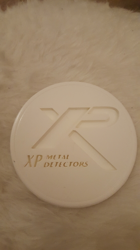 XP metal detector drink-coaster 3D Print 224469