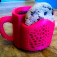 Small Cookie & Coffee Cup 3D Printing 22447