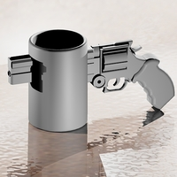 Small Revolver Coffee Cup 3D Printing 22449