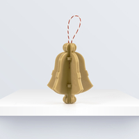 Small CHRISTMAS ORNAMENT: BELL BY BQ 3D Printing 224501