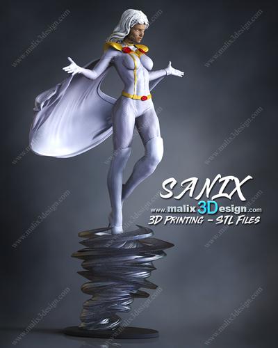 3D Printed Storm - Xmen By Sanix3i