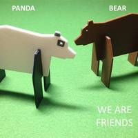 Small Simple animals 6 - Bear & Panda 3D Printing 22455