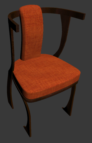 Traditional Vietnamese Chair 3D Print 224562