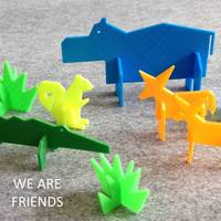 Small Simple Animals 5 3D Printing 22458