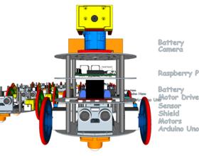 Pin diskBot™ - DIY Robot Platform - Design Concepts 3D Printing 224613