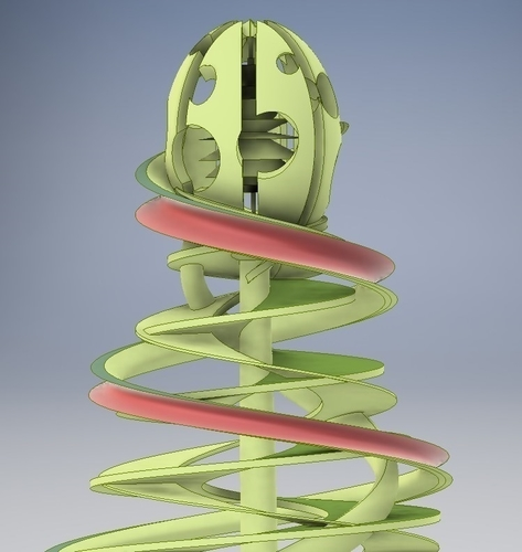Coil Christmas Tree 3D Print 224666