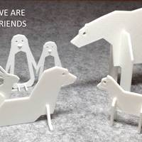 Small Simple Animals 4 - Polar Series 3D Printing 22467