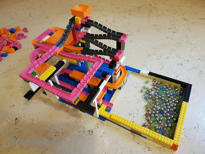 Marble Run Building Brick - Set BASIC 3D Print 224734