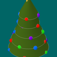 Small Christmas Tree 3D Printing 224766