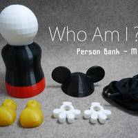 Small Person Bank-M 3D Printing 22477