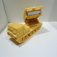 Small Missiles Launcher Business Card Holder  3D Printing 224816