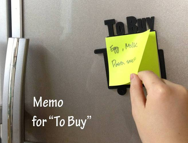 Frame of memo_To Buy 3D Print 22483