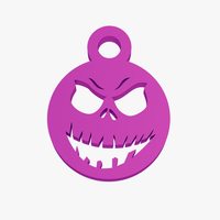 Small Wicked smile keychain 3D Printing 224835