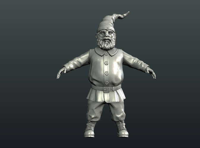 Gnome Sculpture 3D Print 224879