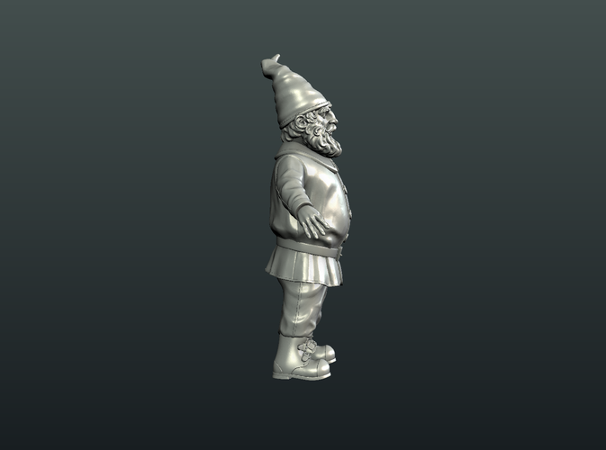 Gnome Sculpture 3D Print 224880