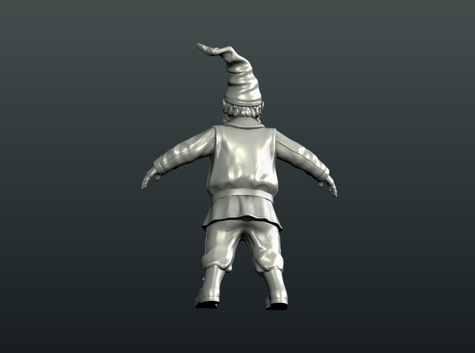Gnome Sculpture 3D Print 224881