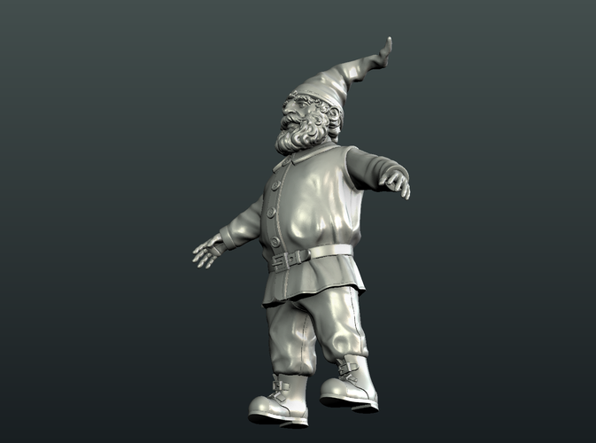 Gnome Sculpture 3D Print 224883