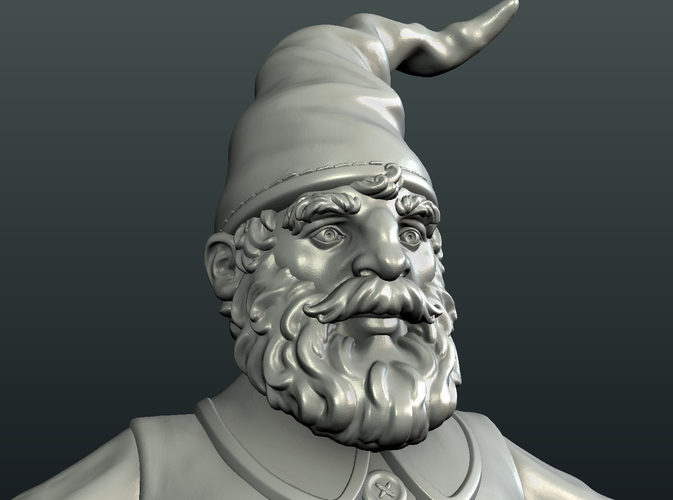 Gnome Sculpture 3D Print 224884