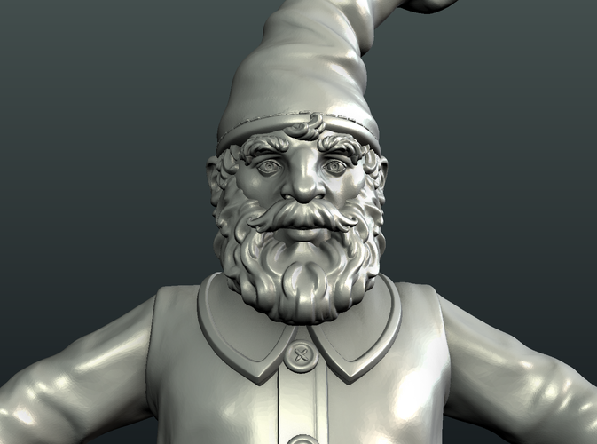 Gnome Sculpture 3D Print 224885