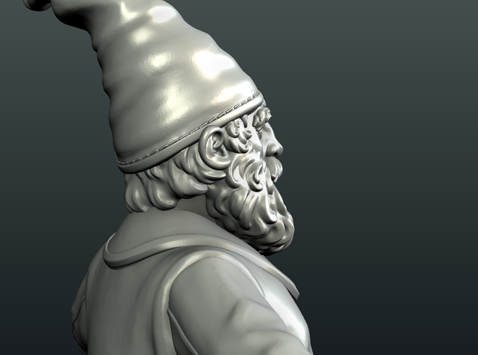 Gnome Sculpture 3D Print 224886