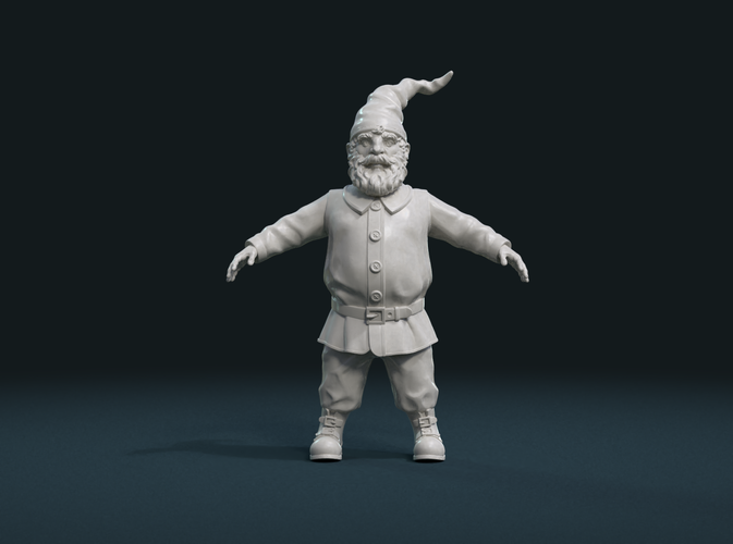 Gnome Sculpture 3D Print 224894