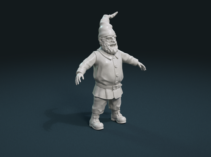 Gnome Sculpture 3D Print 224895