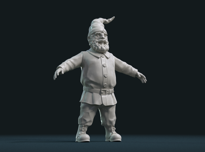 Gnome Sculpture 3D Print 224896