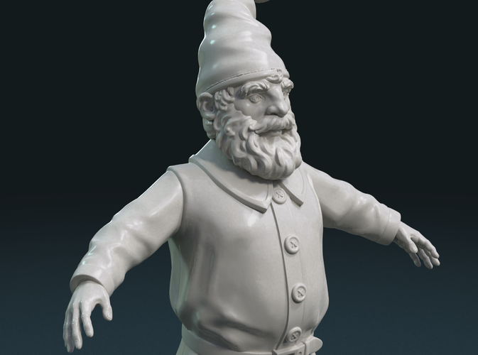 Gnome Sculpture 3D Print 224897