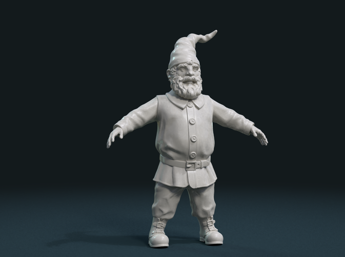 Gnome Sculpture 3D Print 224898