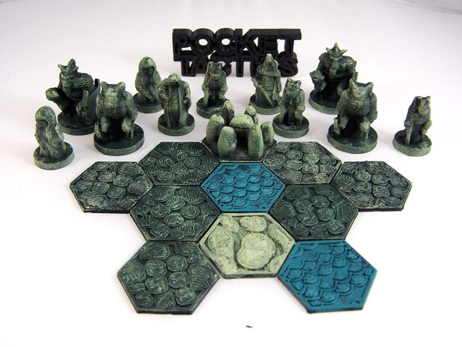 Pocket-Tactics Tribes of the Dark Forest 3D Print 2249