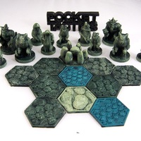 Small Pocket-Tactics Tribes of the Dark Forest 3D Printing 2249