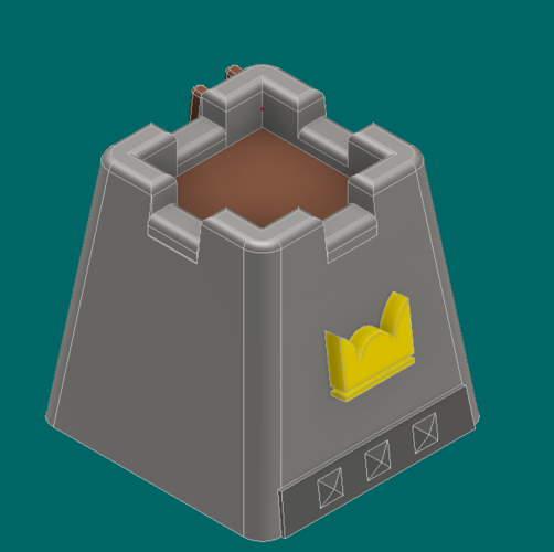 Crown tower 3D Print 224923