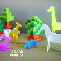 Small Simple animals 2 3D Printing 22497