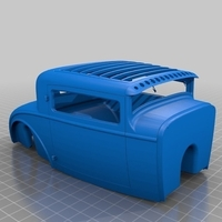 Small HotRod RC Body Ford 1930 3D Printing 225010