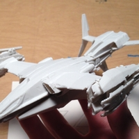 "Small Destiny - Hawk VTOL (""Alpha Umi"" Player Jumpship) 3D Printing 225118"