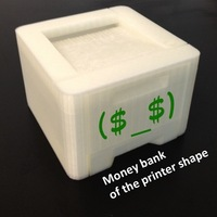 Small Money bank of the printer shape 3D Printing 22514