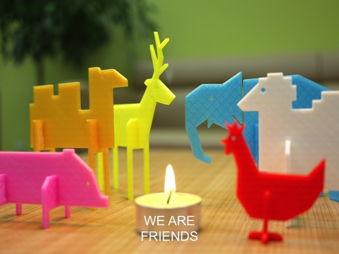 Simple Animals 1 3D Print 22517