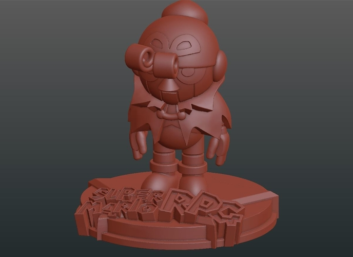 Geno from Super Mario RPG 3D Print 225314