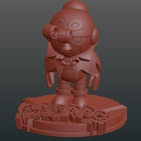 Small Geno from Super Mario RPG 3D Printing 225314