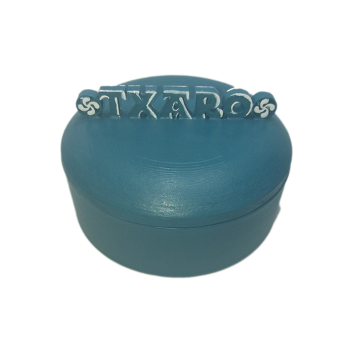 TXARO 3D jewerly box with lauburus 3D Print 225443
