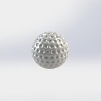Small Practice 3D. P3. Golf Ball 3D Printing 225460