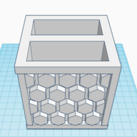 Small Modern Pencil holder 3D Printing 225516