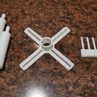 Small Custom Candle Centering Tool - Free Download 3D Printing 225530
