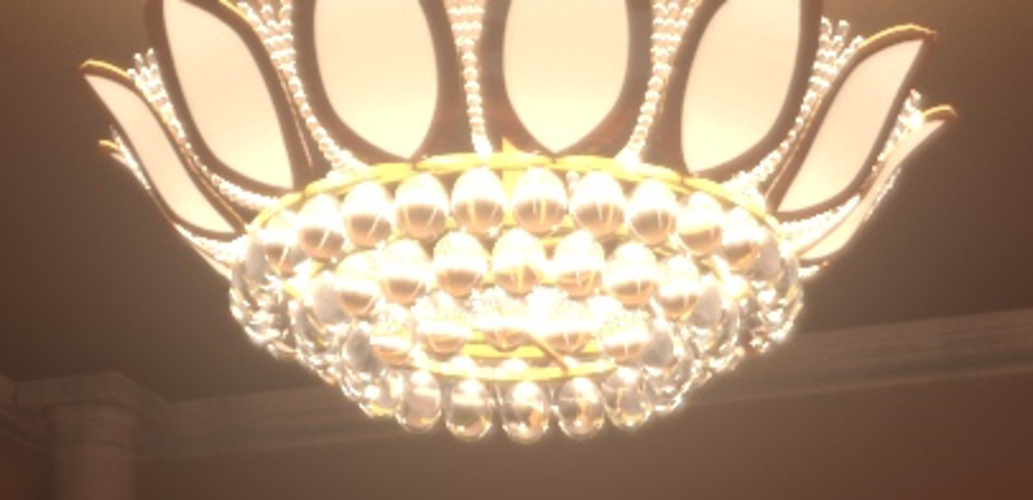 Fancy Chandelier 3D Print 225545