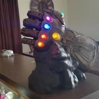 Small Marvel Legends Series Infinity Gauntlet  Display Stand 3D Printing 225573