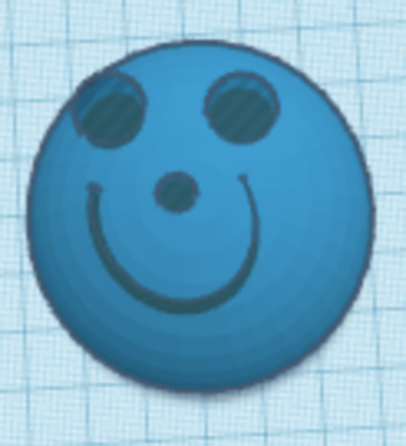 Smiley Face 3D Print 225637