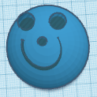 Small Smiley Face 3D Printing 225637