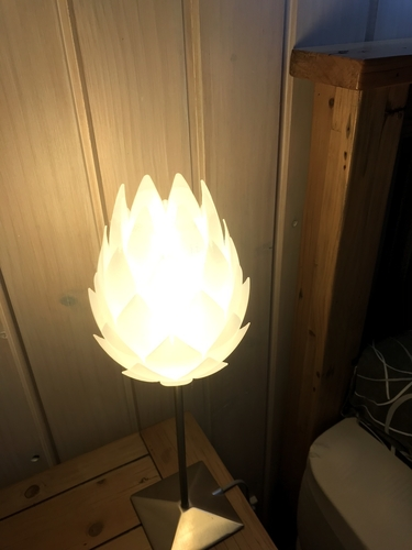 Pine Cone Bedside Table Lamp Shade 3D Print 225785