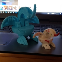 Small World's First 3d Printable Bakugan 3D Printing 225810