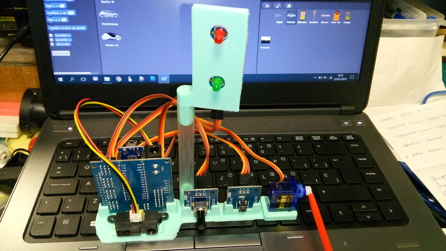 Snap4Arduino - Access Parking 3D Print 225853